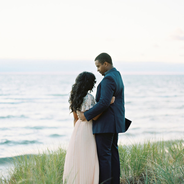 a saugatuck, michigan anniversary session