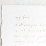 love letter for your spouse, fine art marriage