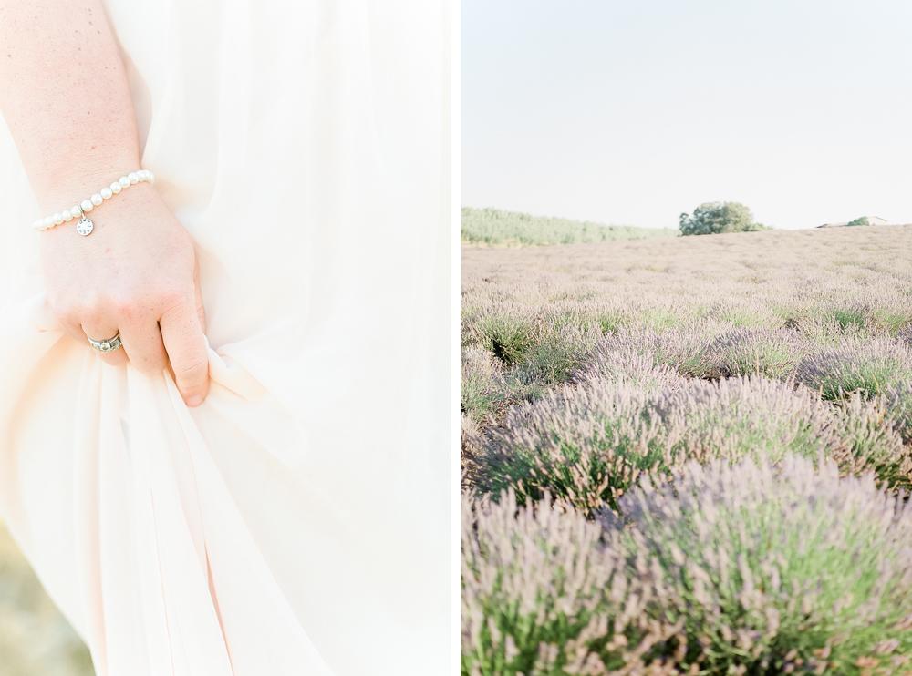 anouschka rokebrand, fine art marriage, provence france anniversary, lavender field