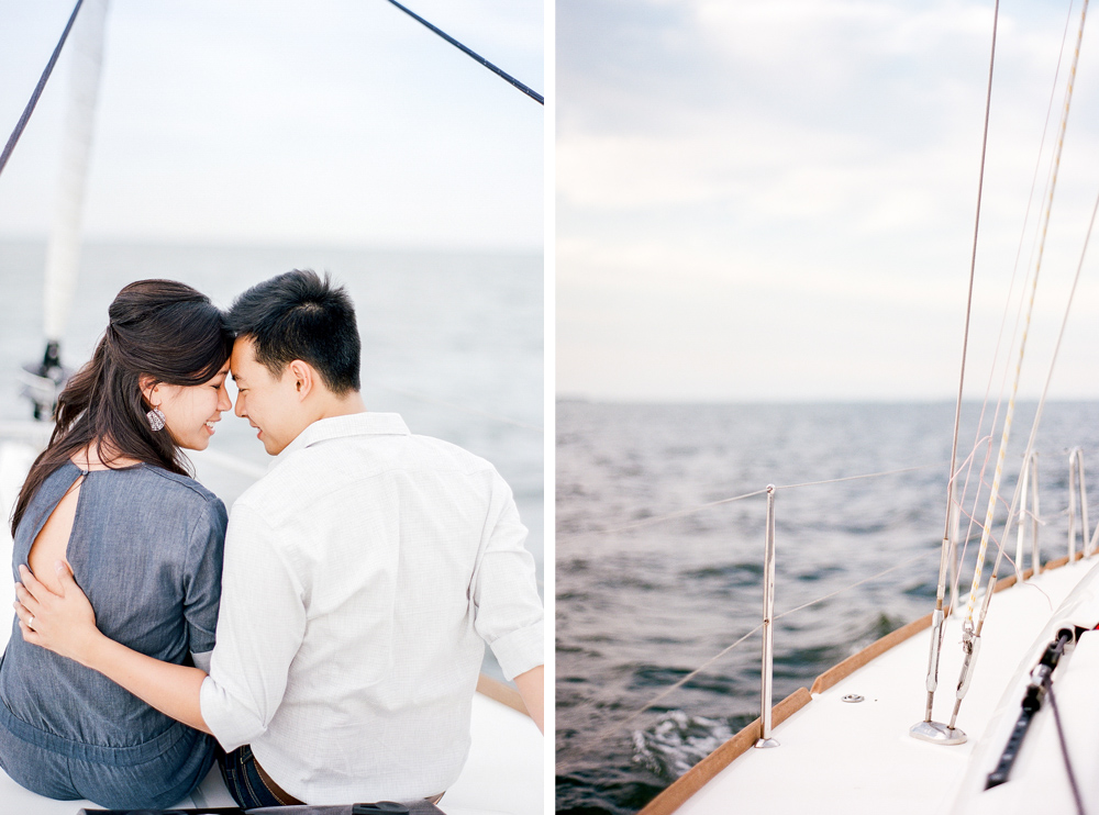 Fine Art Marriage, The Ganeys, Florida Sailboat Anniversary Session